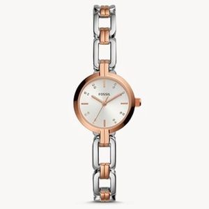 📌NWT! Kerrigan MiniTwo-Tone Stainless Steel Watch